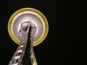 Under the Space Needle (Seattle, WA)